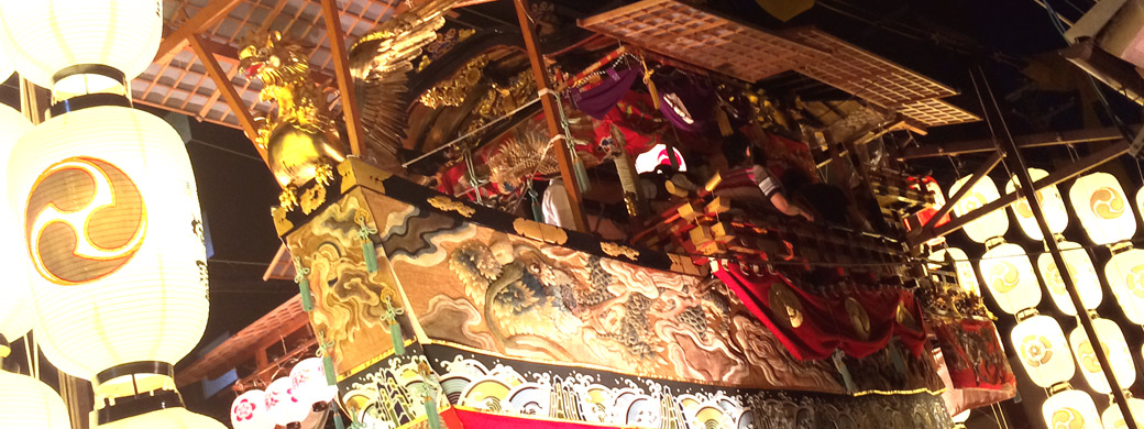 The month of Gion Festival
